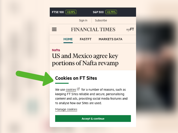 Reclaim The Web: How To Automatically Remove Cookie & GDPR